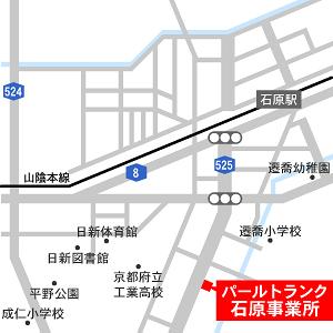 福知山石原事業所地図
